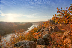Mountain autumn landscape Royalty Free Stock Image