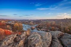 Mountain autumn landscape Stock Photography