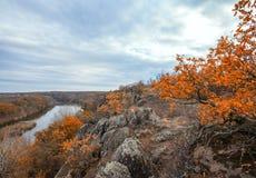 Mountain autumn landscape Stock Image