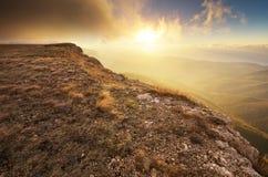 Mountain autumn nature landscape. Stock Photo