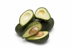 A mountain of avocados. Royalty Free Stock Photo
