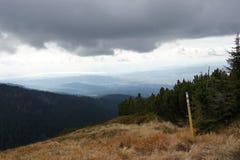 Mountain Babia hora 1725 m, Orava stock image