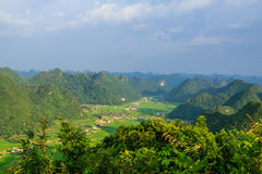 Mountain at Bac Son Stock Images