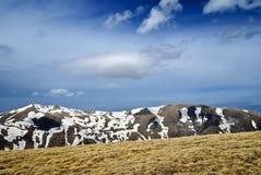 Mountain backbone Stock Images