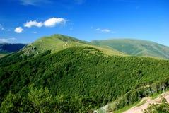 Mountain background Royalty Free Stock Photos