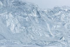 Mountain background, beautiful winter ice, blue texture. stock photo
