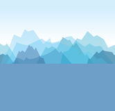 Mountain background Royalty Free Stock Photos