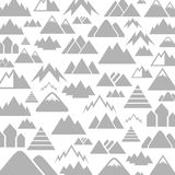 Mountain a background Royalty Free Stock Image