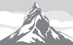 Mountain background Royalty Free Stock Images
