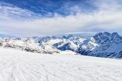 Mountain Baksan valley, Elbrus, Russia. Royalty Free Stock Image