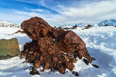 Mountain Baksan valley, Elbrus, Russia. Stock Photos