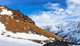 Mountain Baksan valley, Elbrus, Russia. Royalty Free Stock Photos