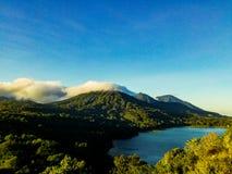 Mountain in bali royalty free stock photo