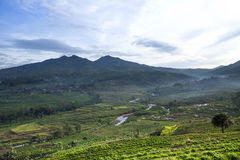 Mountain. At Bandung west java Indonesia Stock Photo
