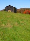 Mountain barn in autumn Stock Photography