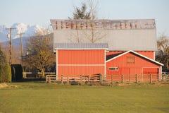 Mountain Barn Stock Photos