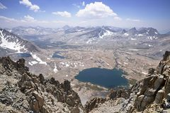 Mountain Basin Overlook Royalty Free Stock Images