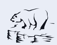 Mountain bear Royalty Free Stock Photography