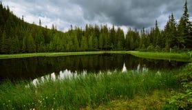 Mountain beautiful lake Stock Image