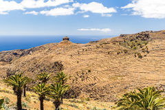 Mountain beautiful landscape, island and ocean Royalty Free Stock Photo