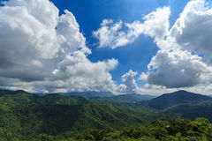 Mountain beautiful landscape off Thailand. Mountain landscape  beautiful Khao Kho off Thailand Stock Photo