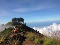 Mountain. Beautifule mountain on wonderful indonesia Royalty Free Stock Photography