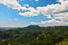 Mountain. In Beijing suburbs, China Royalty Free Stock Photography