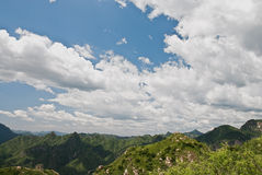 Mountain. In Beijing suburbs, in a sunny day Royalty Free Stock Photography