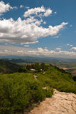 Mountain. In Beijing suburbs, in a sunny day Royalty Free Stock Photos