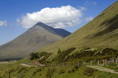 Mountain Beinn Dorain, Scotland, Stock Photos