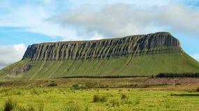 The mountain ben bulben in ireland Royalty Free Stock Photo