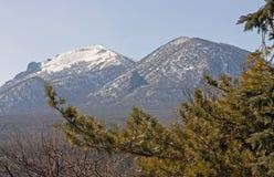 Mountain Beshtau of Pyatighorsk Stock Photos