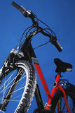 Mountain bicycle Royalty Free Stock Photos