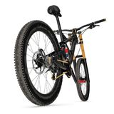 Mountain bicycle bike  on white. 3D illustration. Mountain bicycle bike  on white background. 3D illustration Stock Photography