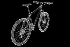 Mountain Bicycle Royalty Free Stock Photography