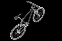 Mountain Bicycle Stock Photo