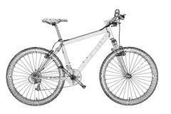 Mountain Bicycle Royalty Free Stock Image
