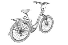Mountain Bicycle Royalty Free Stock Photo