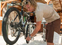 Mountain Bike Stock Photo