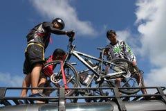 Mountain bike Immagine Stock Libera da Diritti