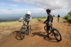 Mountain bike Immagini Stock Libere da Diritti