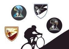 Mountain bike Imagens de Stock