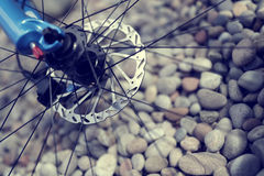 Mountain bike abstract Stock Images