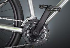 Mountain bike  on  background. Mountain bike sport background  model transportation Stock Photos