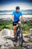 Mountain bike Stock Photography