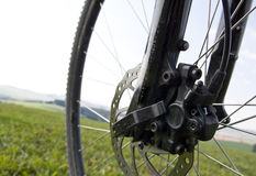 Mountain bike, brake Stock Images