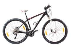 Mountain bike com as rodas de 29 polegadas no branco Fotografia de Stock Royalty Free
