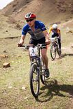 Mountain bike competition Royalty Free Stock Image