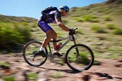 Mountain bike competition Royalty Free Stock Photos