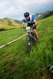 Mountain bike competiton Stock Photography